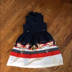 Janie & Jack girls dress size 4 like New